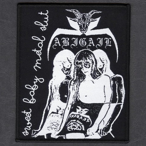 "Abigail ""Sweet Baby Metal Slut"" Patch"