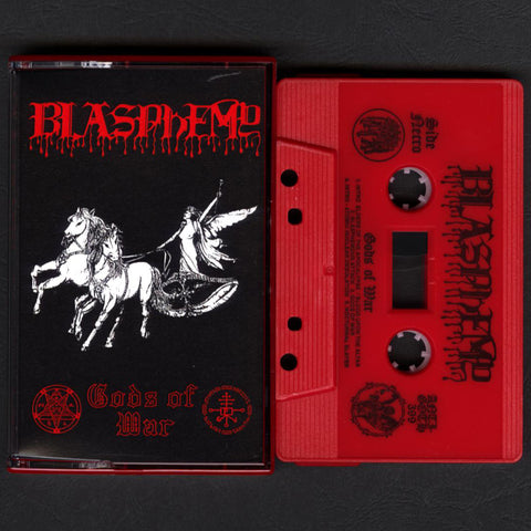 "Blasphemy ""Gods of War"" MC"