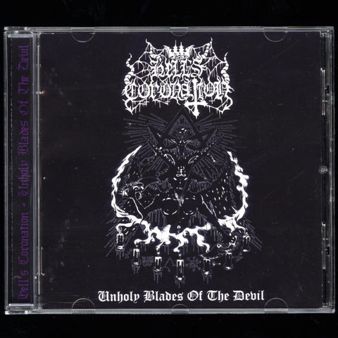 "Hell's Coronation ""Unholy Blades of the Devil"" CD"