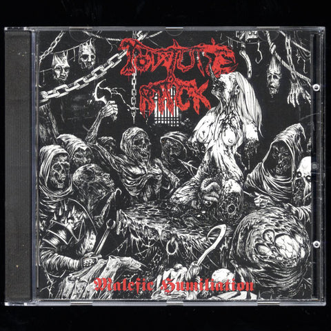 "TORTURE RACK ""MALEFIC HUMILIATION"" CD"