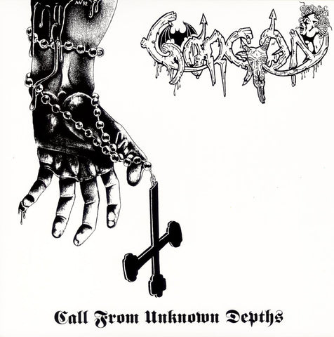 "Gorgon ""Call From Unknown Depths"" LP (1992 French Black Metal)"