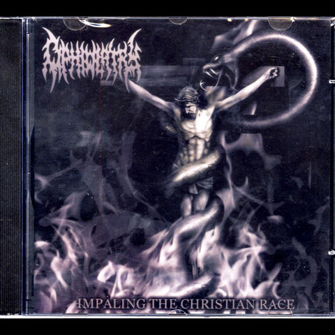 "Abhorrence / Ophiolatry ""Impaling the Christian Race"" Split CD"