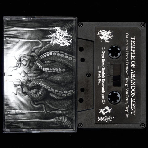 "Temple of Abandonment  ""Chasm of the Horned Pantheon: Through Your Death, They Live"" Demo"