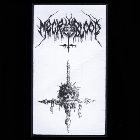 "Necroblood ""Inverted Cross"" Patch"
