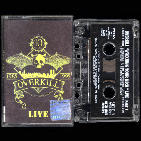 "Overkill ""wrecking your neck live part 1"" MC"