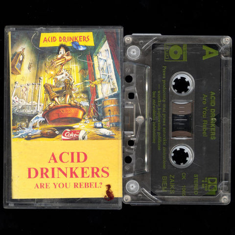 "Acid Drinkers ""Are You A Rebel?"" MC"