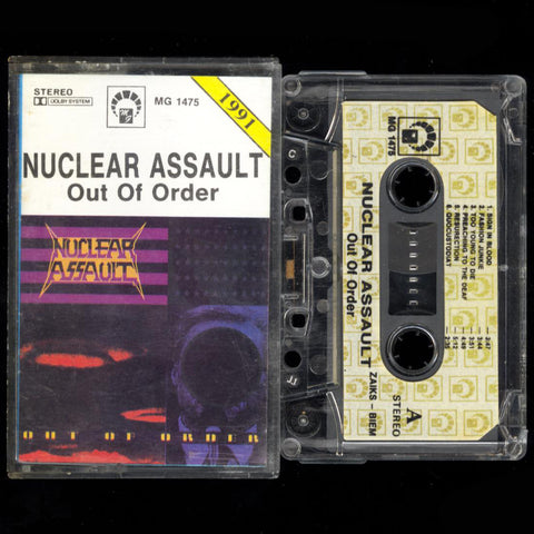 "Nuclear Assault ""Out of Order"" MC"