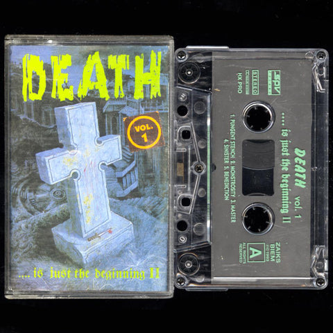 "V/A ""Death ...is just the beginning II Vol. 1"" MC"