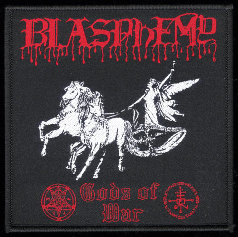 "Blasphemy ""Gods of War"" 4"" Patch"