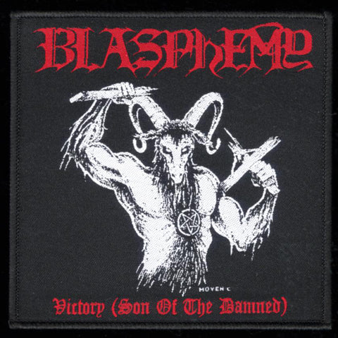 "Blasphemy ""Victory (Son of The Damned"" 4"" Patch"
