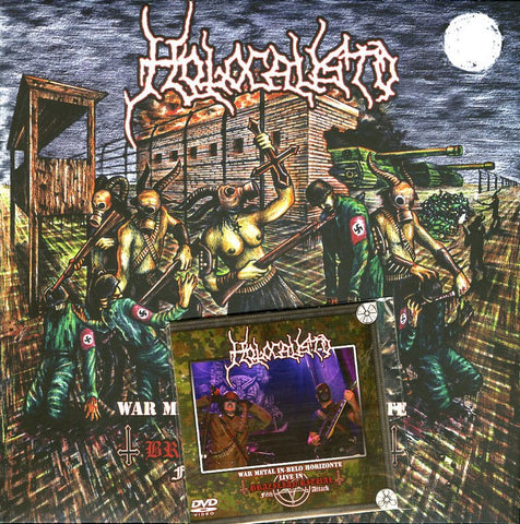 "Holocausto ""War Metal in Belo Horizonte - Live in Brazilian Ritual Fifth Attack"" LP + DVD"