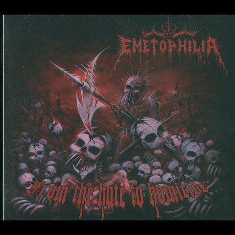 "Emetophilia ""From the Hate to Homocide"" Digipak CD"