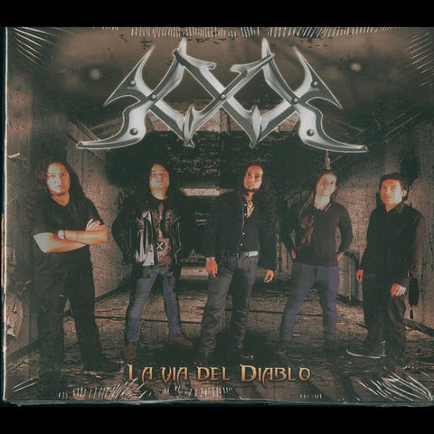 "XXX ""La Via Del Diablo"" Digipak CD"