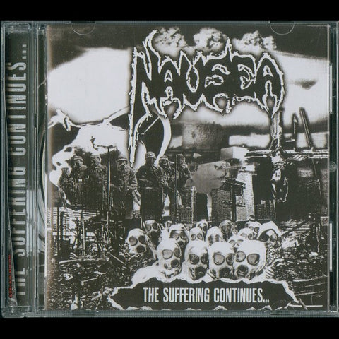 "Nausea ""The Suffering Continues..."" CD"