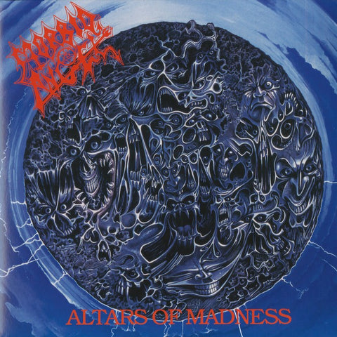 "Morbid Angel ""Altars Of Madness"" Black Vinyl LP (2011 Pressing)"