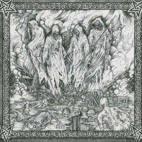 "Kawir / Unknown Artist / Embrace of Thorns / Soulskinner ""Emissaries of a Profane Advent"" Black Vinyl10"""