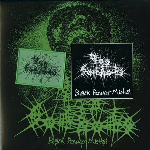 "Yog Sothots ""Black Power Metal"" Die Hard Green Vinyl LP"