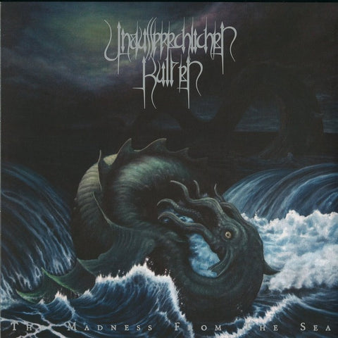 "Unaussprechlichen Kulten / After Death ""Chapter V The Madness from the Sea / Dwellers Split LP Green/Black Vinyl of the Deep"""