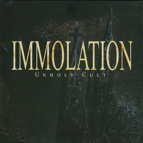 "Immolation ""Unholy Cult"" Picture LP"