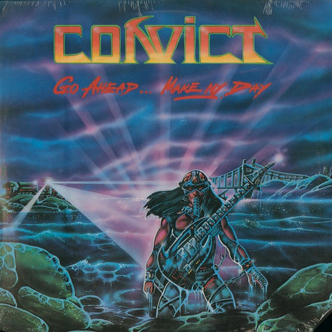 "Convict ‎– Go Ahead...Make My Day"" Promo LP"