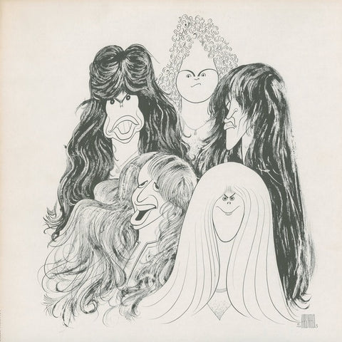"Aerosmith ""Draw The Line"" LP (No Obi Strip)"
