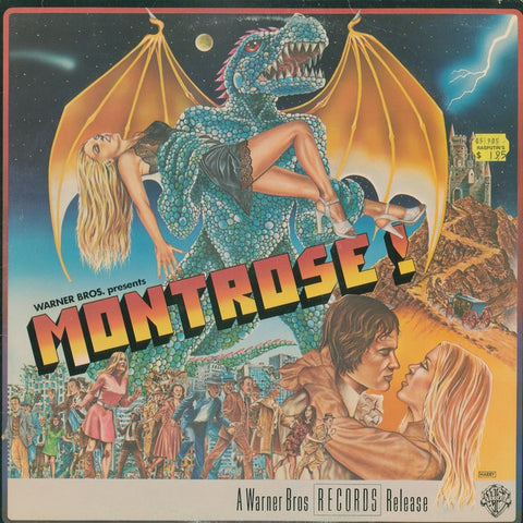 "Montrose ""Warner Bros. Presents Montrose!"" LP (Godzilla cover)"