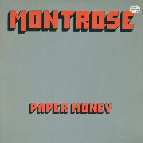 "Montrose ""Paper Money"" LP"