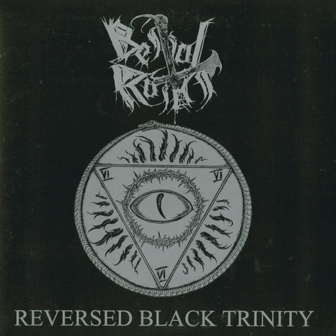"Bestial Raids ""Reversed Black Trinity"" Black Vinyl LP"