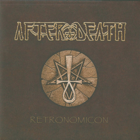 "After Death ""Retronomicon"" Amber Vinyl Double LP"