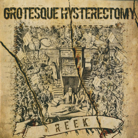 "Grotesque Hysterectomy ""Reek"" LP"