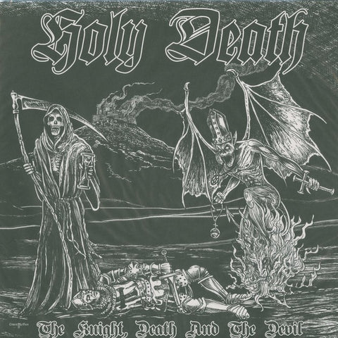"Holy Death ""The Knight, Death and the Devil"" Red Vinyl LP"
