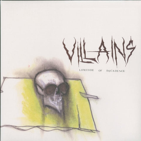 "Villains ""Lifecode of Decadence"" Die Hard Green Vinyl LP"