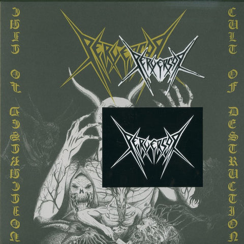 "Perversor ""Cult of Destruction"" Die Hard Yellow Vinyl LP"