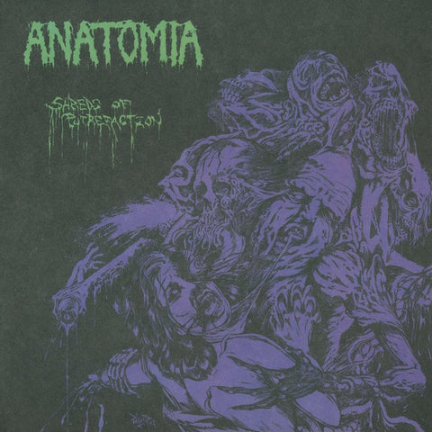 "Anatomia ""Shreds of Putrefaction"" Die Hard Green Vinyl 10"""