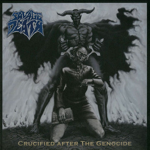 "Savage Death ""Crucified After the Genocide"" LP"