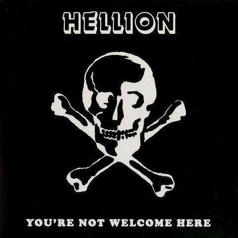 "Hellion ""You're not Welcome here"" 7"" + LP"