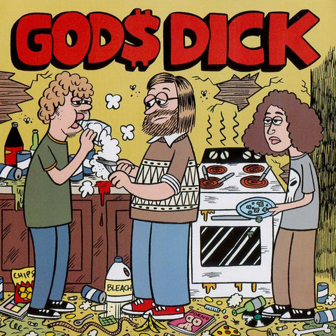 "GOD$ DICK ""Shitlife"" 7"""