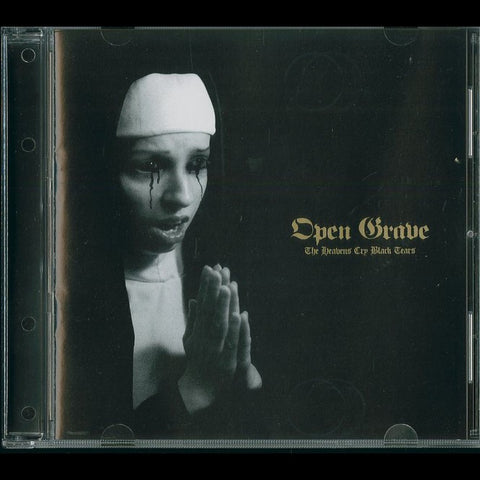 "Open Grave ""The Heavens Cry Black Tears"" CD"