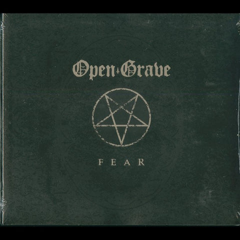 "Open Grave ""Fear"" Digipak CD"