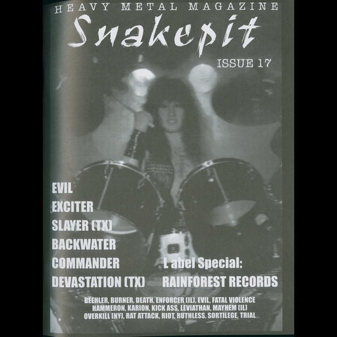 Snakepit Mag #17 + Assassin 7""