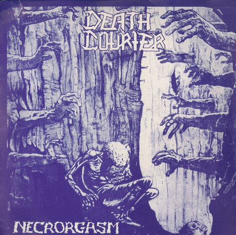 "Death Courier ""Necrorgasm"" 7"""