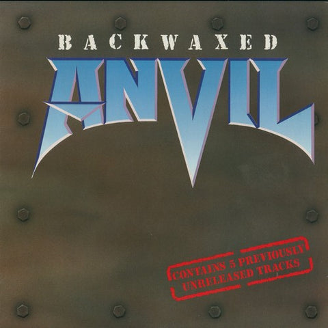 "Anvil ""Backwaxed"" LP"