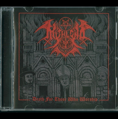 "Mitlond ""Death For Those Who Worship"" CD"
