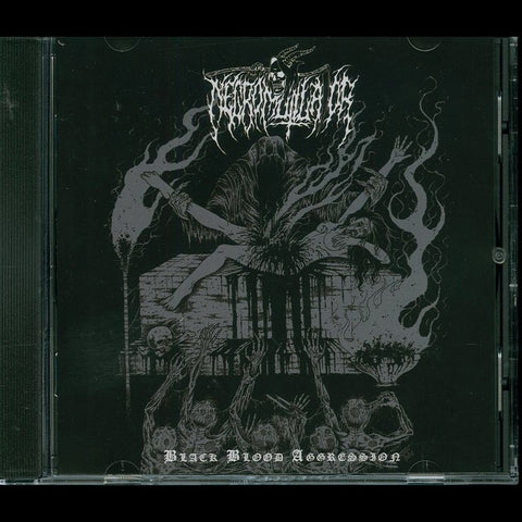 "Necromutilator ""Black Blood Aggression"" CD"