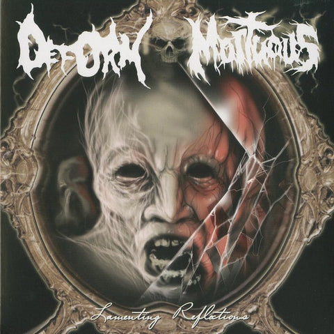 "Deform / Mortuous ""Lamenting Reflections"" Split 7"""