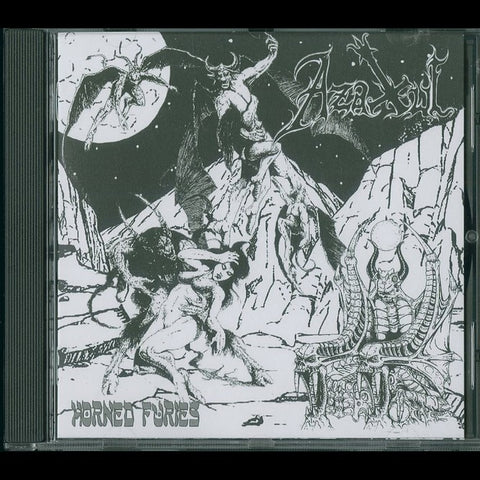 "Azaxul ""Horned Furies"" CD"