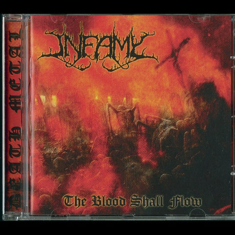 "Infamy ""The Blood Shall Flow"" CD"