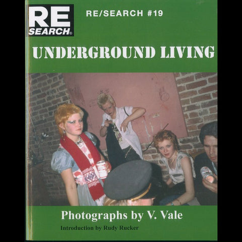 Underground Living by V. Vale Book