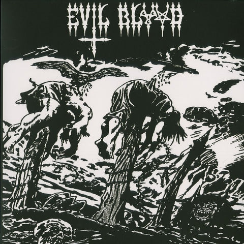 "Evil Blood ""Midnight in a Sodom"" LP"
