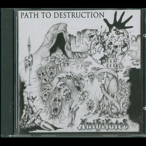 "Anihilated ""Path to Destruction + Speedwell + Live"" CD"